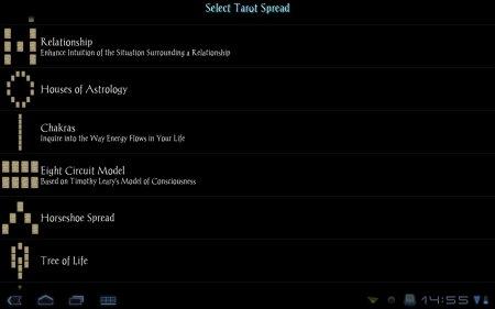 Galaxy Tarot Pro версия 1.6.6