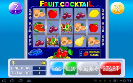Fruit Cocktail Slot Machine версия 1.0