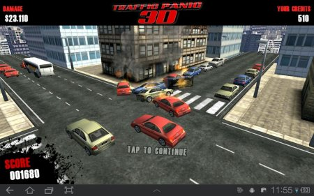 Traffic Panic 3D (обновлено до версии 1.4)