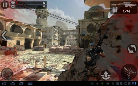 3D шутер Frontline Commando для планшетов на Android