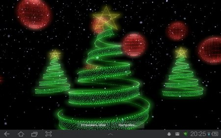 Holiday Lights Live Wallpaper v.1.0