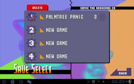 Sonic CD (обновлено до версии 1.0.6)