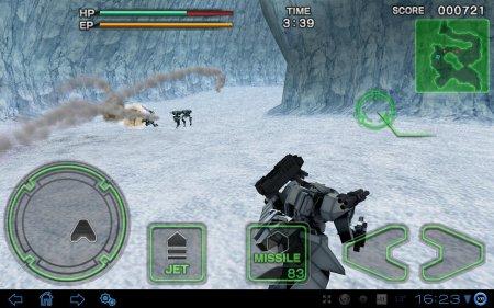 3D-шутер Destroy Gunners SP Ice Burn II для планшетов на Android
