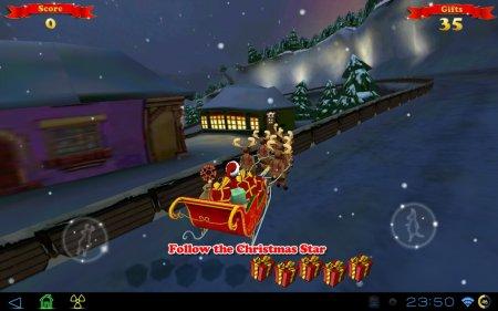 Santa Ride! HD версия: 1.01 [G-сенсор]