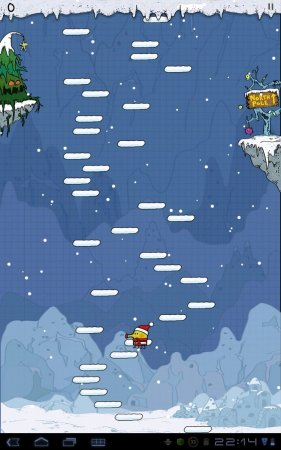 Doodle Jump Christmas Special версия 1.9.7 [G-сенсор]