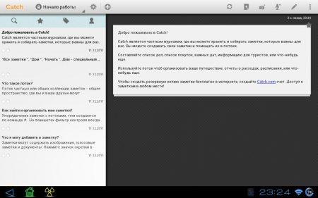 Catch Notes версия 4.5.2 Rus