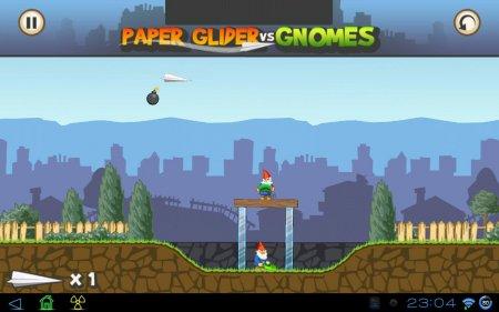 Paper Glider vs. Gnomes версия: 1.2