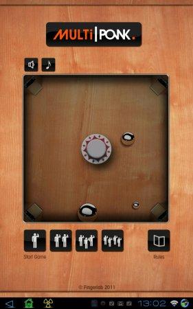 Multiponk версия: 1.0 (добавлена версия на 4 игрока)