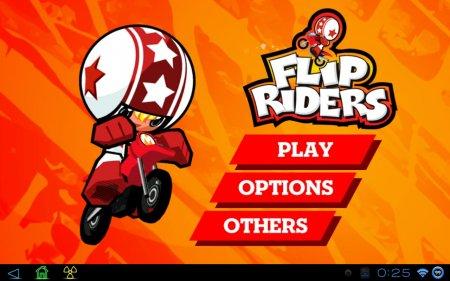 Flip Riders (обновлено до версии 1.3.1) [G-сенсор]