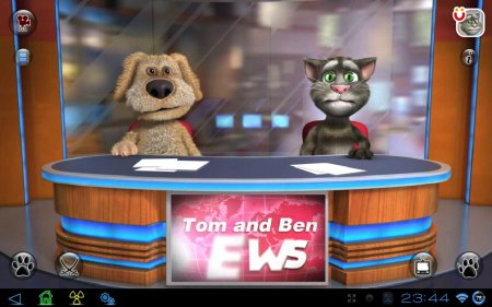 Talking Tom & Ben News версия 1.0