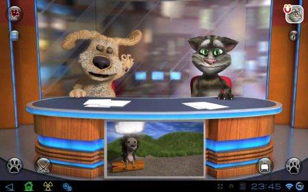 Talking Tom & Ben News версия 1.0
