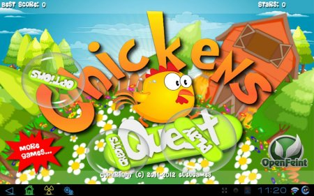 Chickens Quest версия 1.3