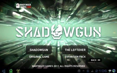 SHADOWGUN: THE LEFTOVER версия 2.1.0 (добавлена версия 1.1.2 от Samsung Apps)