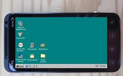ОС Windows установили на Android смартфон