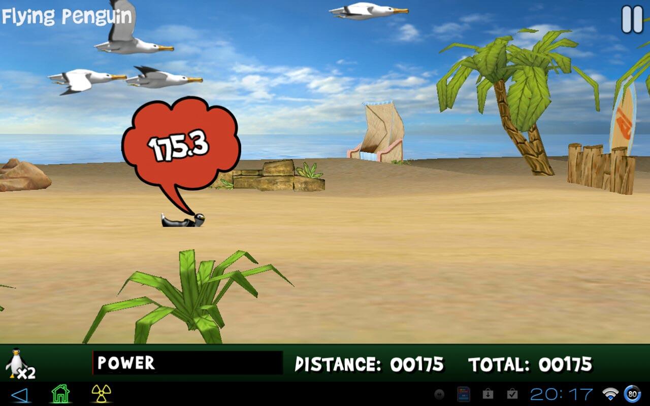 Yetisports penguin golf для android - аркадная игра из серии yetisports для android