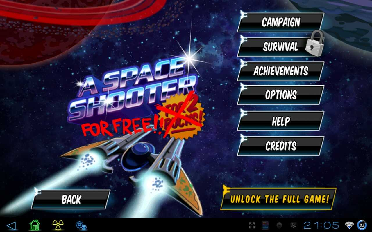 free space shooter games download