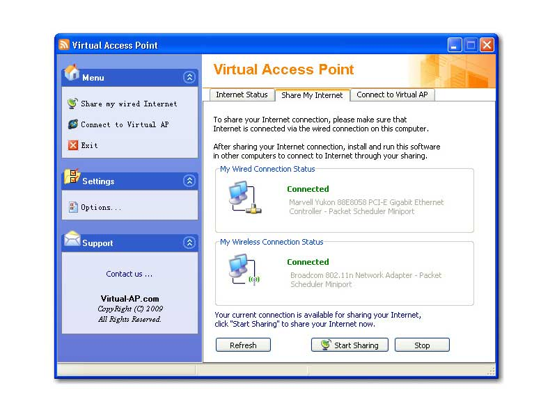 Virtual access point windows xp скачать