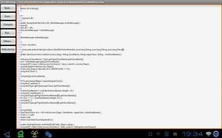 DroidDevelop версия 1.6.1 + JavaIDEdroid версия 1.4.1
