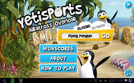 Yetisports 4 Albatross Overload