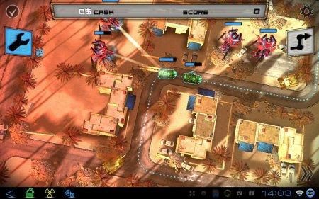 Tower Defence наоборот в Anomaly Warzone Earth HD для планшетов на Android
