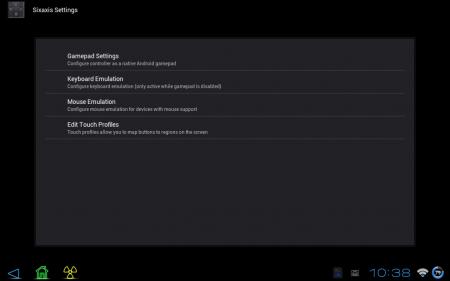 Sixaxis Controller (обновлено до версии 0.5.7)