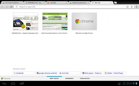 Google Chrome v31.0.1650.59 (Android 4.0+)
