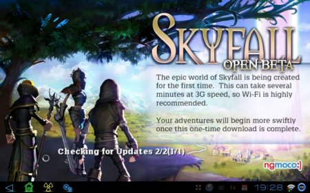 Skyfall Beta версия: 1.4.0