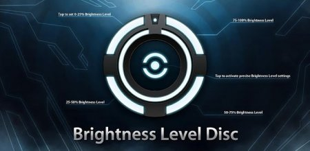 Brightness Level Disc (обновлено до версии 1.6.1)