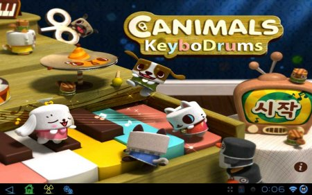 Canimals KeyboDrums версия 1.0