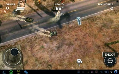 Death Rally Free (обновлено до версии 1.1.2) (добавлена разблокировка всех авто и оружия)