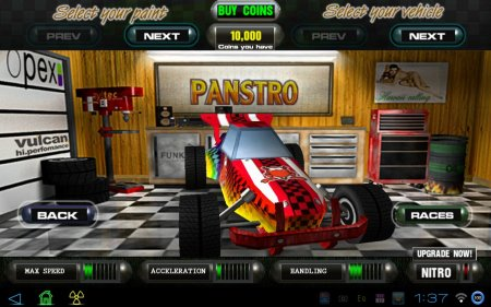 Dust: Offroad Racing версия: 1.0.1