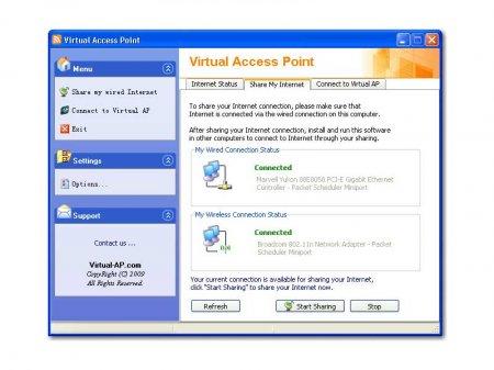 Virtual Access Point - Создаем Wi Fi точку теперь уже на Windows XP ( самый простой способ)
