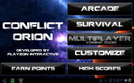Conflict Oreon Delux