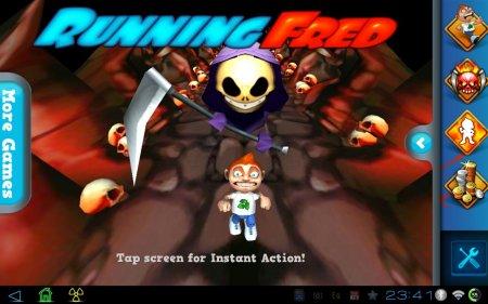 Correndo Fred (atualizado para a versão 1.4.7) [G-Sensor] [dinheiro ilimitado]