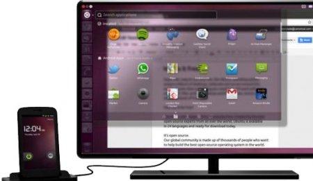 Ubuntu для Android от Canonical - две операционные системы в одном устройстве одновременно