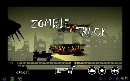 Zombie vs Truck