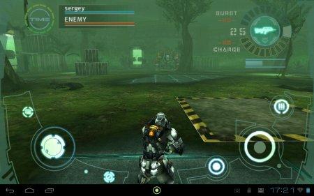MMOTPS Frontier Gunners для планшетов на Android