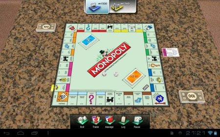 Настольная игра Монополия для планшетов на Android