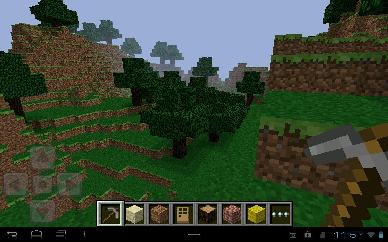 Новая версия Minecraft PE 1.5 на Android