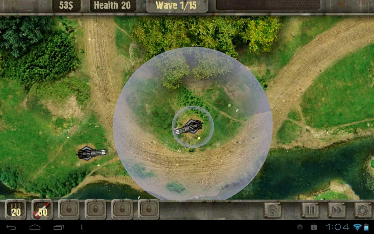 Взломанный Tower Defense на андроид