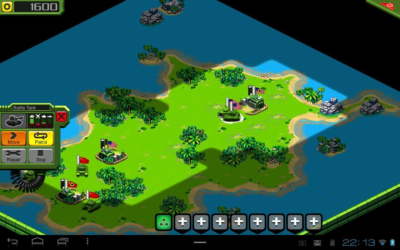 "Игра ""Tropical Stormfront"" для планшетов на Android"