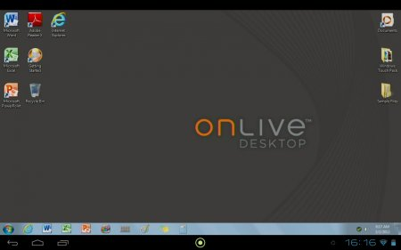 OnLive Desktop версия: 1.0