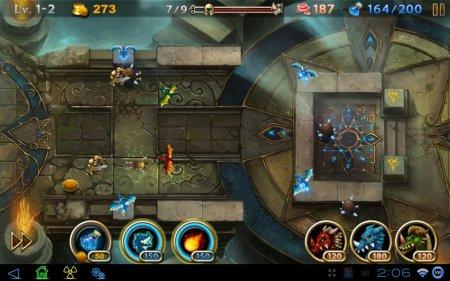 TD-игра Lair Defense: Shrine планшетов на Android