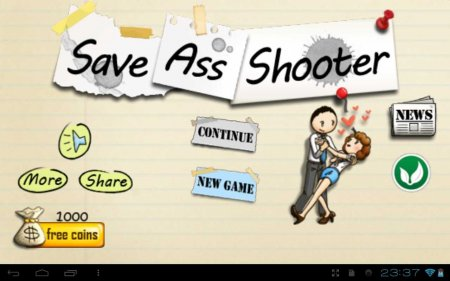 Save Ass Shooter