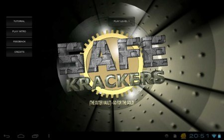 Safe Krackers