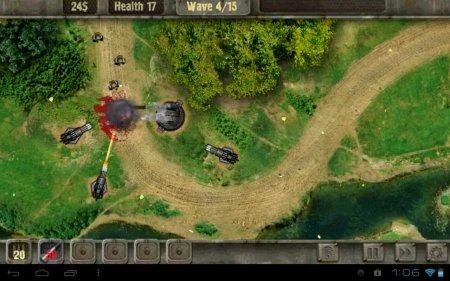 TD-игра Defense Zone для планшетов на Android