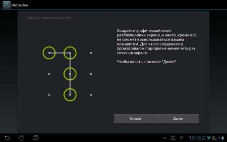 Графический ключ Android не поддался хакерам ФБР
