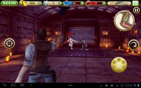 Вестерн Six Guns для планшетов на Android