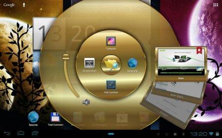 Прошивка с Android 4.0.3 для Acer Iconia TAB A500 (FLEXREAPER-RF1-EXTREME-EDITION-REV5-AROMA от civato), основана на OTA прошивках 1.031, 1.033, 1.041 с фирменным интерфейсом Acer Ring + моды