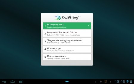 SwiftKey Tablet Keyboard (обновлено до версии 4.1.3.149)